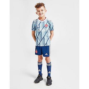 New adidas Boys' Ajax 2020/21 Away Kit Blue