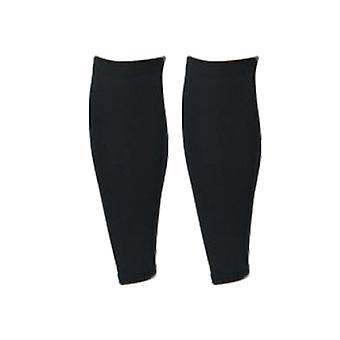 Chaussettes élastiques de veau de compression pour sports running shin splint black m size