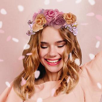 Blossom Girls Floral Headband - Hen Party Festival