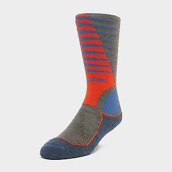 New Bridgedale Men's Mid-weight Merino Wool Ski Socks Multi