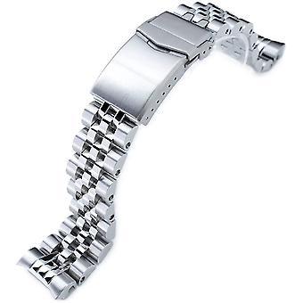 MiLTAT 20mm Watch Band for Seiko MM300 SBDX001 SBDX003 SBDX017, Angus-J Screw-Links
