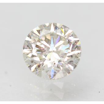 Sertifioitu 0,72 karat E VS2 pyöreä brilliant parannettu luonnollinen löysä timantti 5,64mm