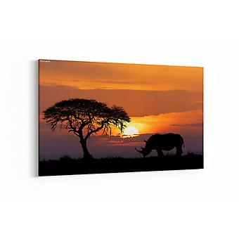 Schilderij - Africa wildlife — 90x60cm