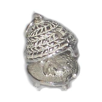 Bijenkorf Opening Sterling Silver Charm .925 X 1 Bijenkorf Bijenkorven Charm - 4961