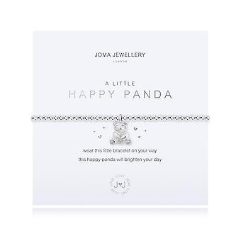 Gioielli Joma Un piccolo panda felice argento 17.5cm Bracciale stretch 4367