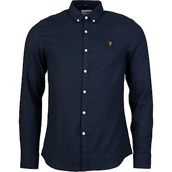 Farah Brewer Short Sleeved Oxford Shirt