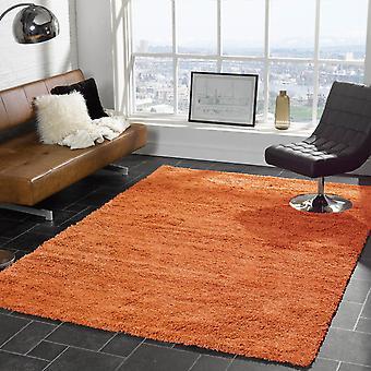 Cariboo Shaggy Rugs In Orange