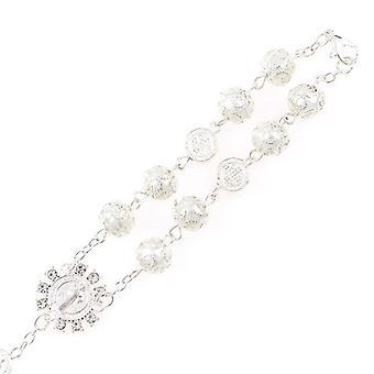 Catholic Religious Bead Cross Bracelets