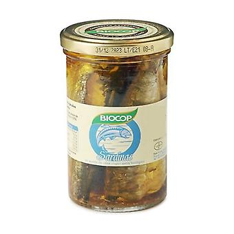 Sardines in Organic Extra Virgin Oil 195 g