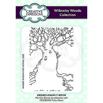 Creative Expressions Knarly Nook A6 Pre Cut Rubber Stamp Co-ords With CEDSE002