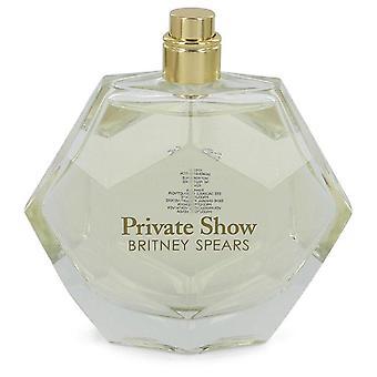 Show privado Eau De Parfum Spray (Tester) Por Britney Spears 3.4 oz Eau De Parfum Spray