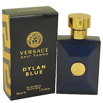 Versace Pour Homme Dylan Blue Eau De Toilette Spray By Versace 1.7 oz Eau De Toilette Spray