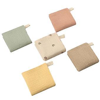 5 Pcs Towel Baby Face Cloth, Baby Cloth Soft Absorbent Gauze Kindergarten