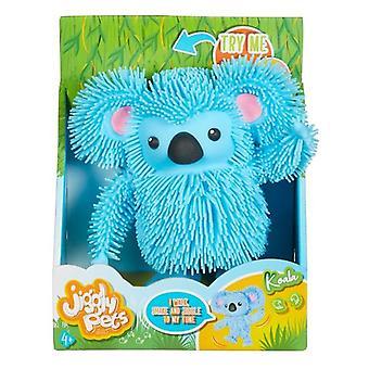 Jiggly lemmikit kävelevät Koala Sininen