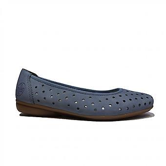 Rieker L8355-14 Jeans Womens Slip On Shoes