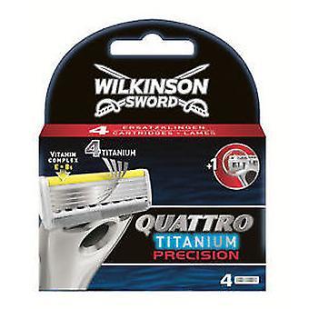 Wilkinson Quattro Titarium Precision Charger 4 Units