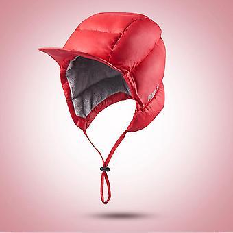 Winter Warm- Down Hat With Ear-flaps, Antifreeze Outdoor, Sport Cap