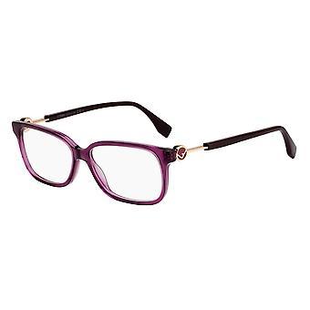 Fendi FF0394 0T7 Plum Glasses