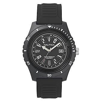 Nautica Analogueico Watch quartz men with Silicone strap NAPIBZ007