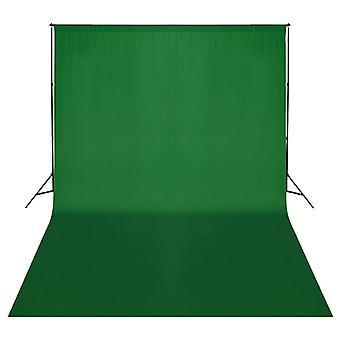 vidaXL photo background system 500 x 300 cm Green