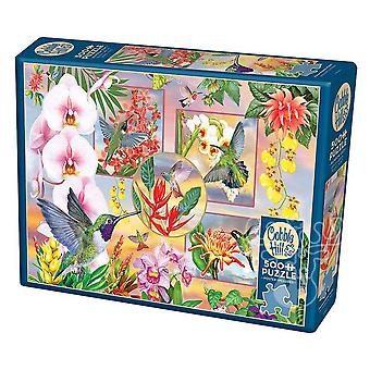 Cobble hill puzzle - hummingbird magic - 500 pc