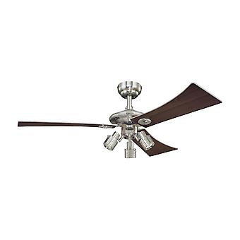 Ceiling fan Audubon with lights and pull chains