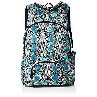 MorikukkoMorikukko Hooded Backpack Tourquise SnakeUnisex - AdultZainiMulticolore (Turquoise Snake)33x8x40 Centimeters (W x H x L)