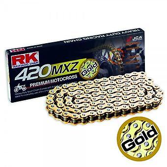 Cadena RK GB420MXZ 134 Oro X 3010674RK Goldx RKGB420MXZ RKGB420MX Z 420X134