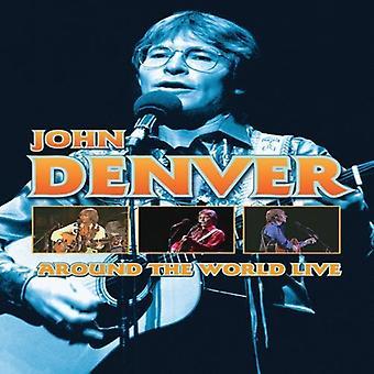 John Denver - Around the World Live [DVD] USA import
