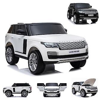 ES-Toys Kinder Elektroauto Land Rover Range Rover EVA-Reifen Allradantrieb