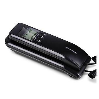 Trimline-telefon med ledning og dobbel LCD-skjerm