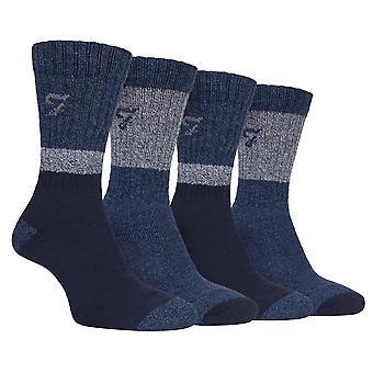 Chaussettes de chaussures de randonnée rembourré en coton PK pour hommes 4