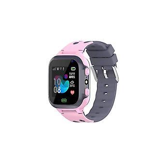 Casual Smart Watch Kids Call For Children SOS Antil Lost Waterproof Watch Smart Watch Pink