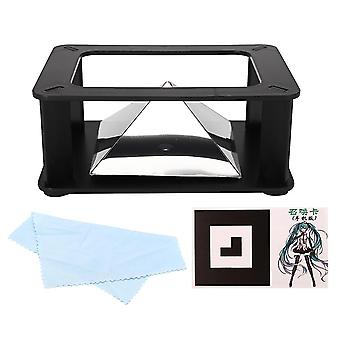 For Universal Smartphone 3D Holographic Hologram Display Stand Projector Pyramid Science Toy WS37218