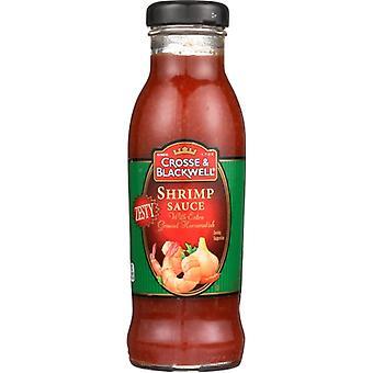 Crosse & Blackwell Sauce Rejer Zesty, tilfælde af 6 X 12 Oz