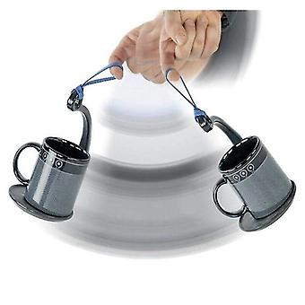 Spill Stopper Lid Coffee Tea Cup SpillNot Coaster Never spill SpillNot handle over the cup artifact