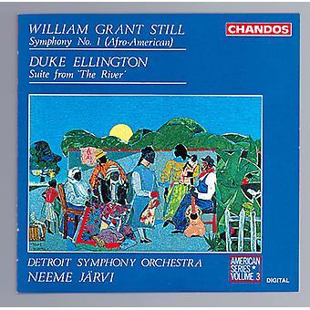 Still/Ellington - William Grant Still: Symphony No. 1 Afro-American; Duke Ellington: Suite From the River [CD] USA import