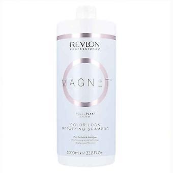 Shampoo for Coloured Hair Magnet Color Lock Repairing Revlon (1 L)