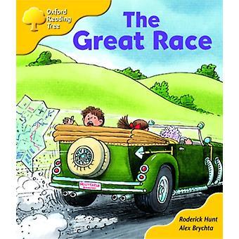 Oxford Reading Tree Stage 5 Lisää satukirjoja A The Great Race by Roderick Hunt & Illustrated by Alex Brychta