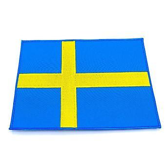 Sveriges flagga tygmärke - Stor