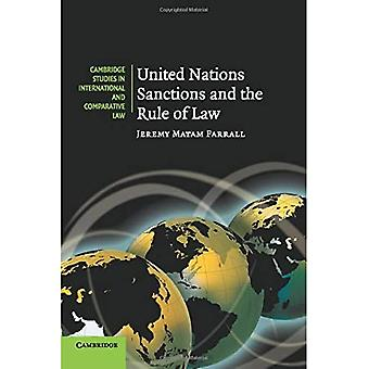 United Nations Sanctions and the Rule of Law (Cambridge Studies in International and Compara...
