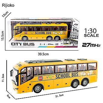 4CH الكهربائية اللاسلكية التحكم عن بعد حافلة المدرسة