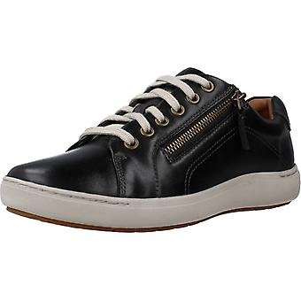 Clarks Zapatos Casual Nalle Lace Color Black