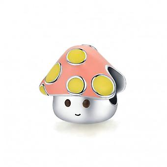 Sterling Silver Charm Little Mushroom - 7112