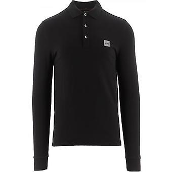 BOSS Black Slim Fit Stretch Cotton Passerby 1 Polo Shirt