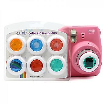Color Close-up Lens Filter Set Compatible With Fujifilm Instax Mini 8/8+/9/7s/kt