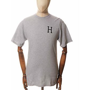 Huf Classic H Tee - Grey Heather