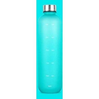1L tritanowe butelki z wodą sportową (niebieskie)