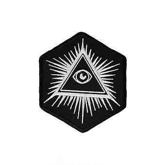 Extreme Largeness Eye Of Providence Iron-On Patch