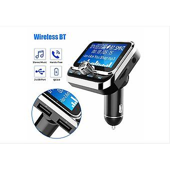Bluetooth Fm Transmitter Wireless Fm Transmitter Lcd Car Mp3 Player Fm Transmitter Aux Sd Dual Usb Charger Us